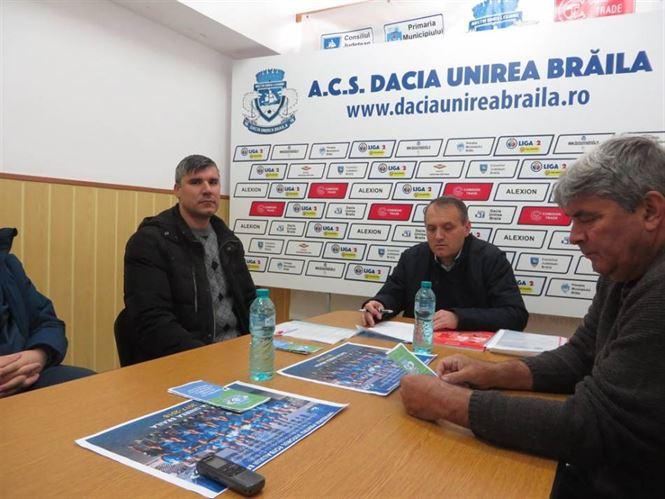 """Dacia Unirea a incheiat proiectul """"Impreuna pentru viitorul fotbalului brailean!"""""""
