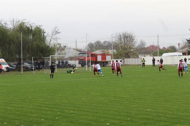 Viitorul Ianca a câștigat derby-ul județean din Liga a 3-a, cu Dacia Unirea Brăila