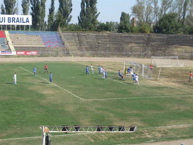 Dacia Unirea invinsa pe teren propriu de Sportul Snagov