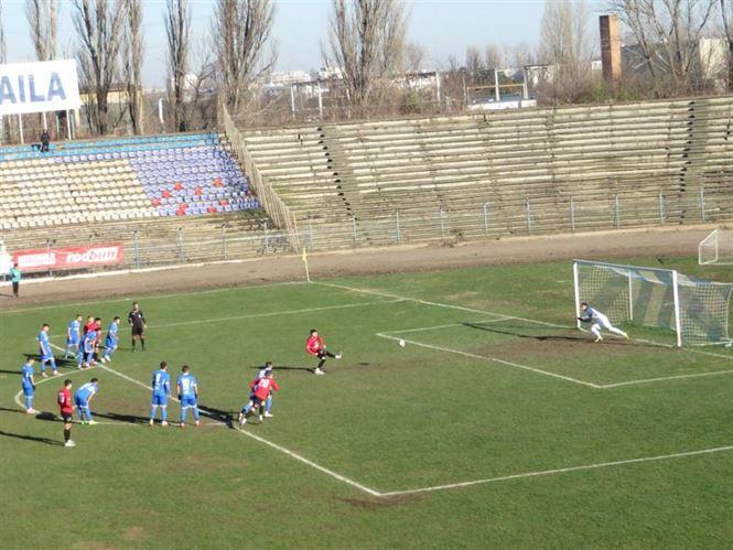 Dacia Unirea a incheiat anul cu cea mai severa infrangere din acest campionat