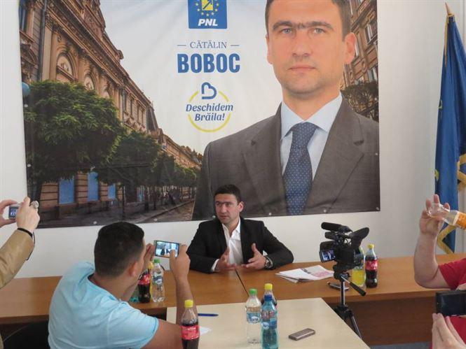 Catalin Boboc, atac la administratia locala