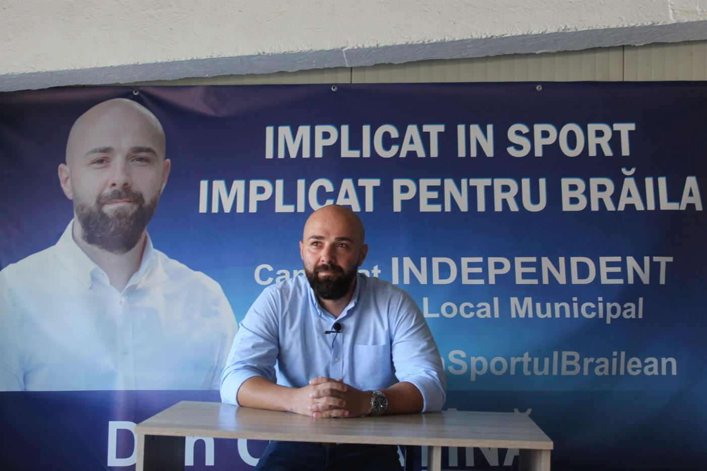 Dan Căpățînă, candidat independent la Consiliul Local Municipal