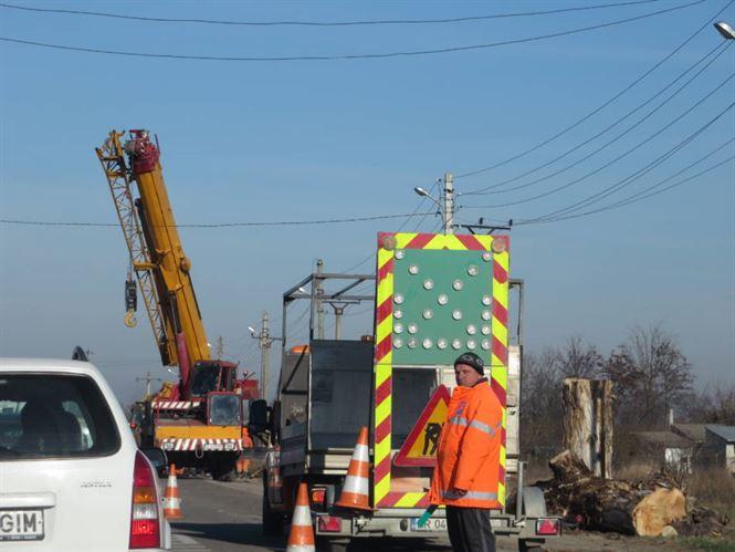 Se vor tăia aproape 1800 de arbori de pe marginea Drumurilor Județene