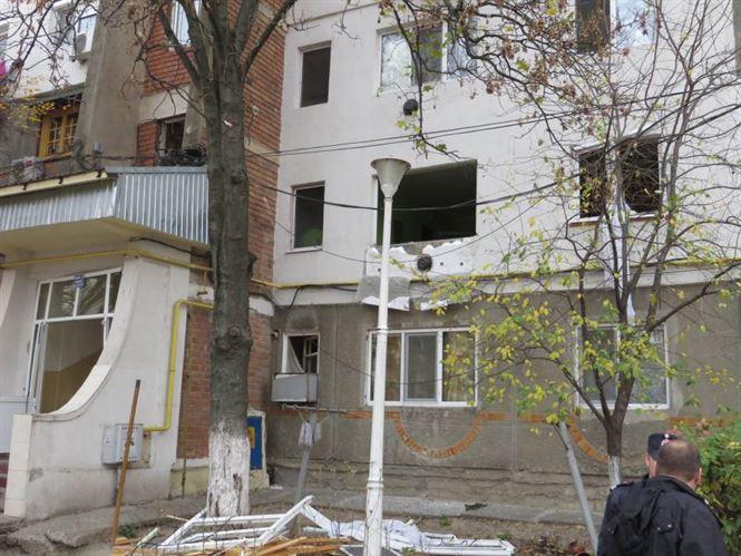 Explozie la un apartament din blocul 9 cartierul Viziru I