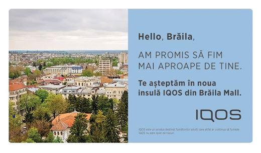 Un nou IQOS Lounge își așteaptă prietenii în Brăila Mall, din 18 septembrie