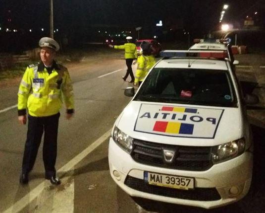 Reținut pentru 24 de ore pentru că a fugit când l-au oprit polițiștii și au constatat că nu are permis de conducere