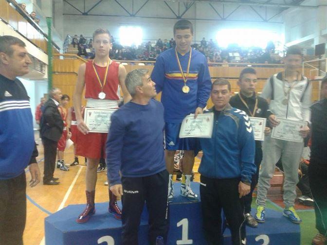 Ionut Bucurica noul campion national la cadeti, categoria 54 Kg