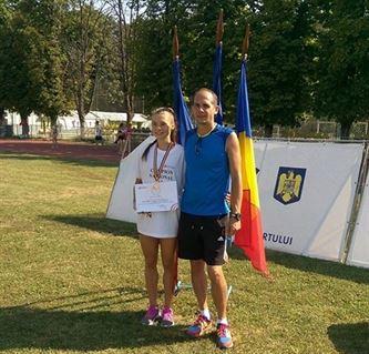 Iulia Banaga, dubla campioana nationala la juniori I