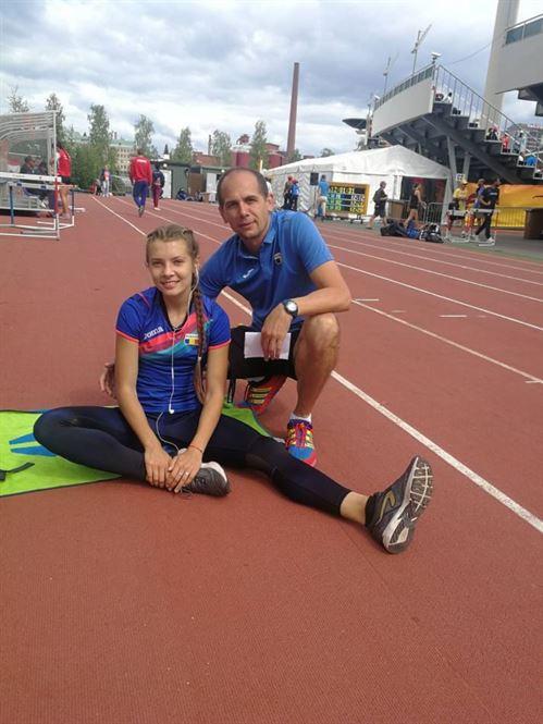 Iulia Banaga, nou record personal la 400 metri garduri realizat la mondialele de la Tampere