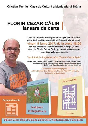 Dubla lansare de carte a subofiterului Florin Călin