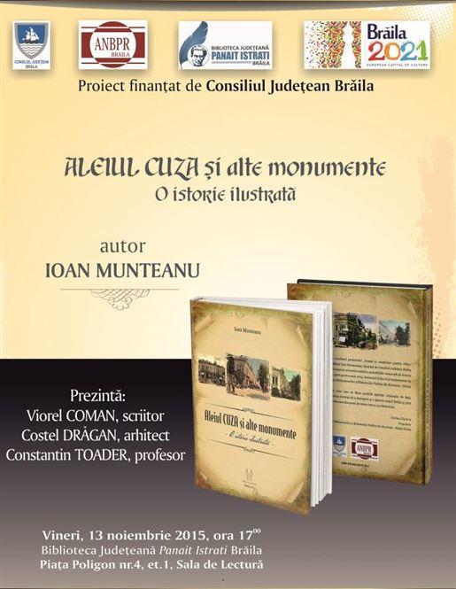 Lansare de carte a profesorului Ioan Munteanu