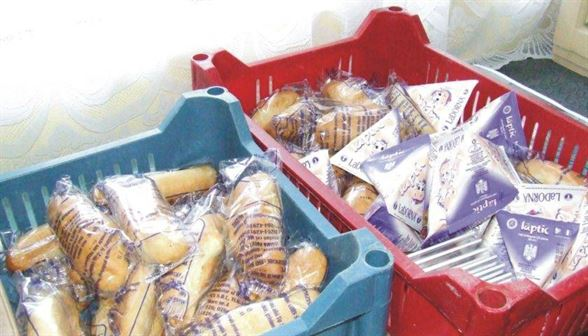 Cate produse au fost livrate elevilor in perioada septembrie – decembrie 2017