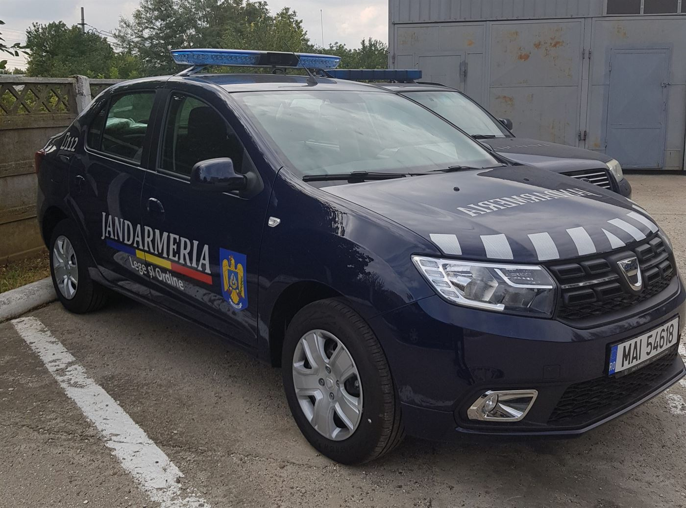 Autospeciale noi în dotarea jandarmilor brăileni