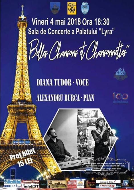 """Concert de chansonete și tangouri interbelice pe scena Palatului """"Lyra"""""""