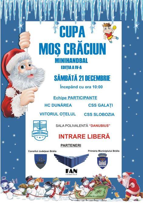 """Cupa """"Moş Crăciun"""" la minihandbal și handbal junioare IV"""