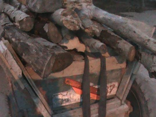 Material lemnos fără documente legale, confiscat de polițiștii de frontieră brăileni
