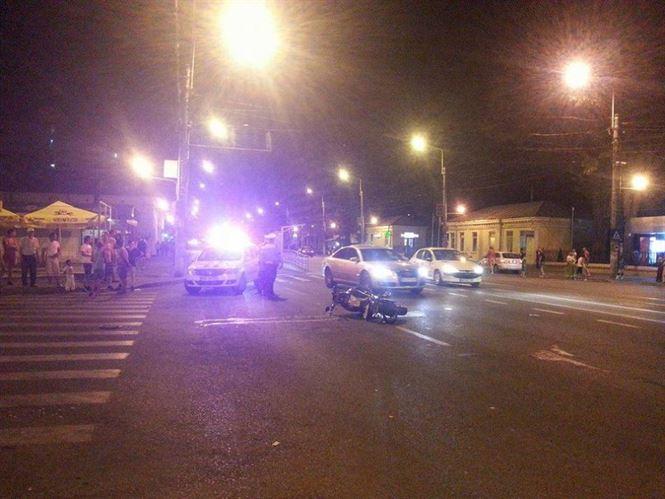 Video: Motociclist accidentat pe Calea Calarasilor