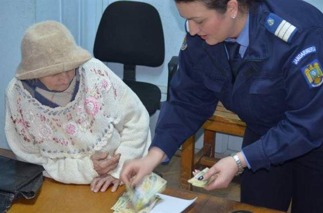 O braileanca si-a recuperat banii pierduti gratie unei jandarmerite