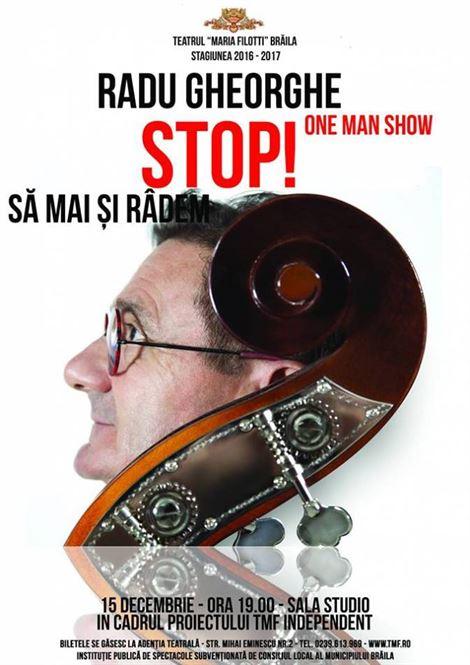 One Man Show cu Radu Gheorghe