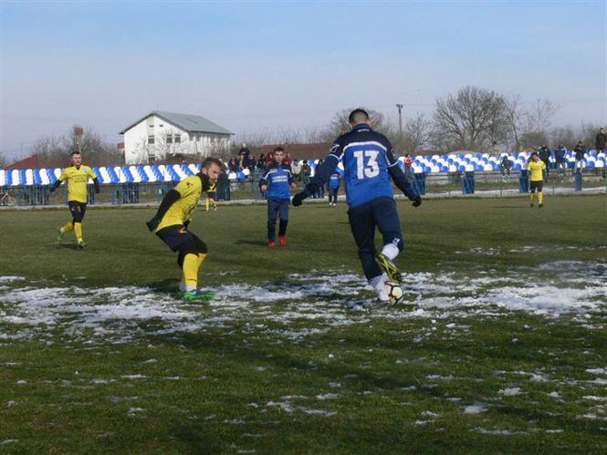 Sportul Chiscani a terminat la egalitate primul amical al iernii