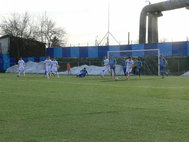 Sportul Chiscani invinsa cu 2-0 pe terenul liderului