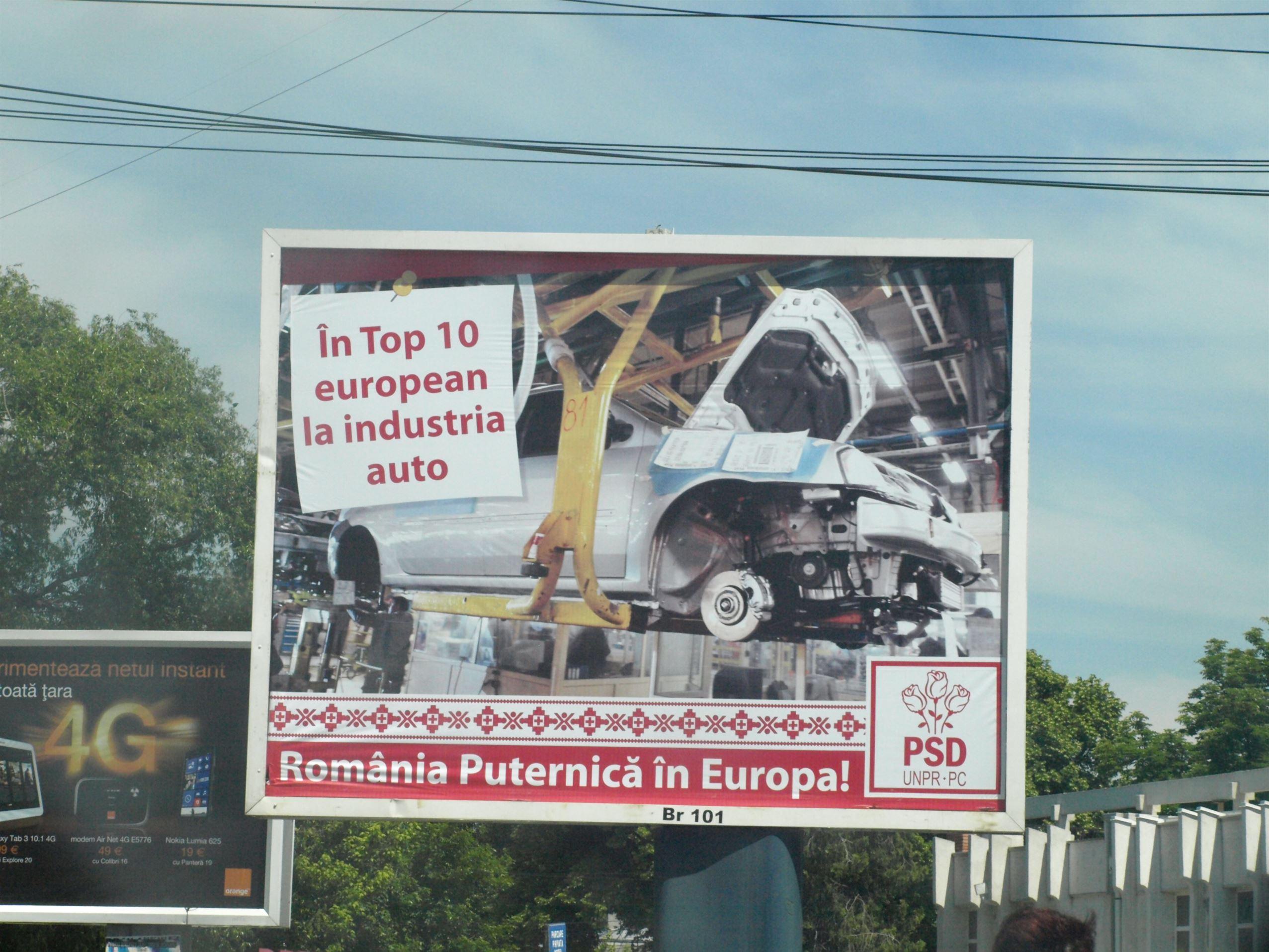 BEJ Braila a admis plangerea PDL Braila cu privire la sloganurile PSD-UNPR-PC