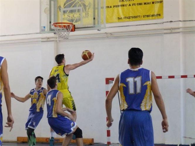 Cuza Sport Braila -CN Aurel Vlaicu 85-63 (17-17, 24-12, 25-19, 19-15)