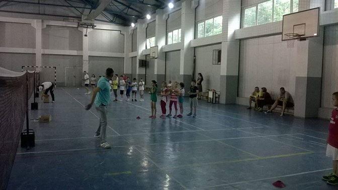 Primii sportivi braileni legitimati la badminton