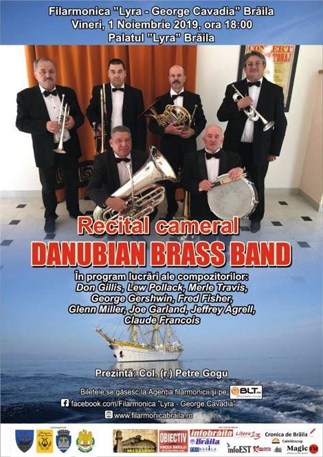 """Recital """"Danubian Brass Band"""" la Palatul """"Lyra"""" din Brăila"""