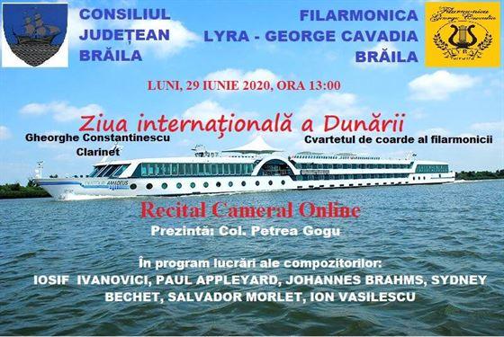 Recital – Ziua internationala a Dunarii
