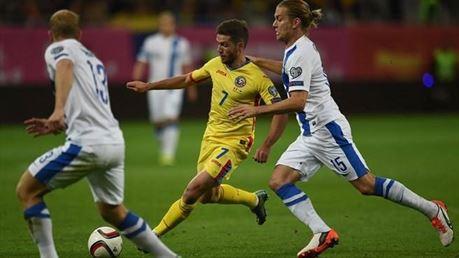 Romania, cu braileanul Chipciu titular, la un pas sa piarda in fata Finlandei