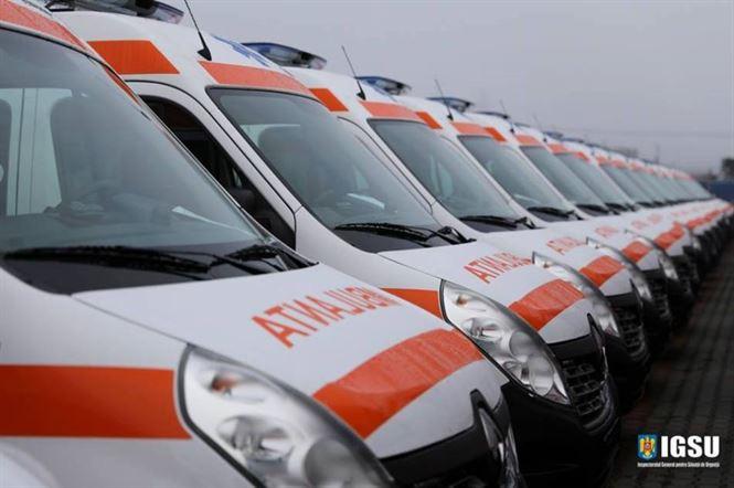 Săptămâna viitoare vor sosi și la Brăila ambulanțe noi