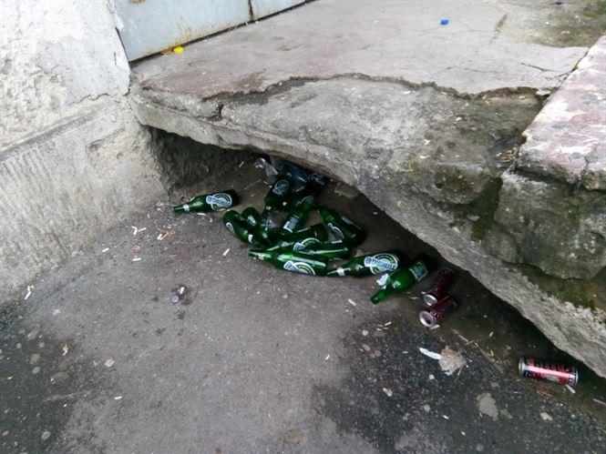 Sanctionati de politia locala pentru consumul de bauturi alcoolice pe domeniul public