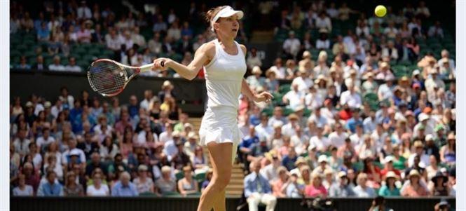Simona Halep a jucat intr-un picior si a ratat o noua finala de Grand Slam