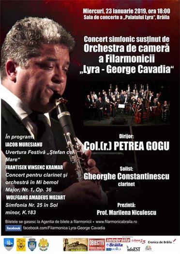 Concert simfonic la Palatul Lyra