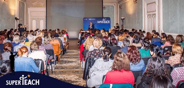 Peste 250 de profesori prezenți la Conferința SuperTeach de la Brăila, evenimentul dedicat schimbării mentalității în educație
