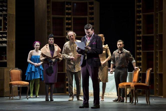 Actorii teatrului brailean, pe scena Teatrului Odeon cu piesa Tartuffe