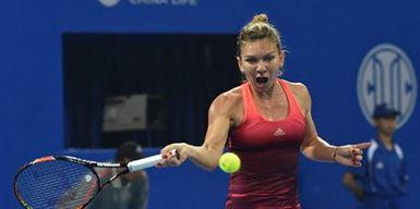 Simona Halep s-a retras in primul set la Beijing