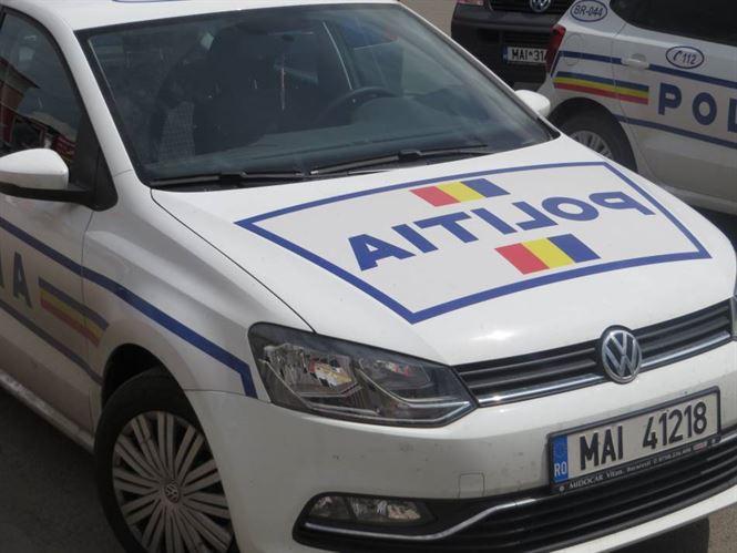 Un barbat din Galbenu, depistat de politisti dupa ce a furat rucsacul unei cliente dintr-un supermarket