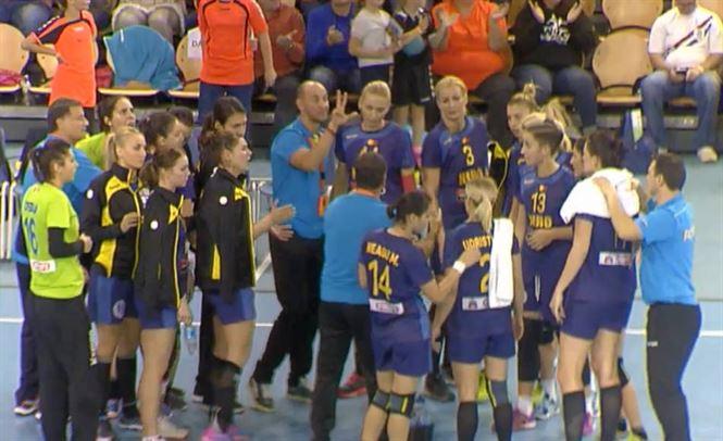 Victorie in ultima secunda in meciul cu Olanda A