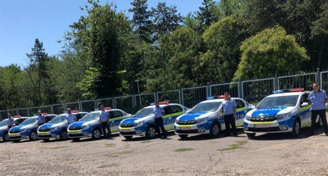 IPJ Brăila a primit în dotare 12 autospeciale noi