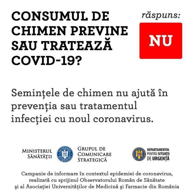 Consumul de chimen nu previne COVID-19