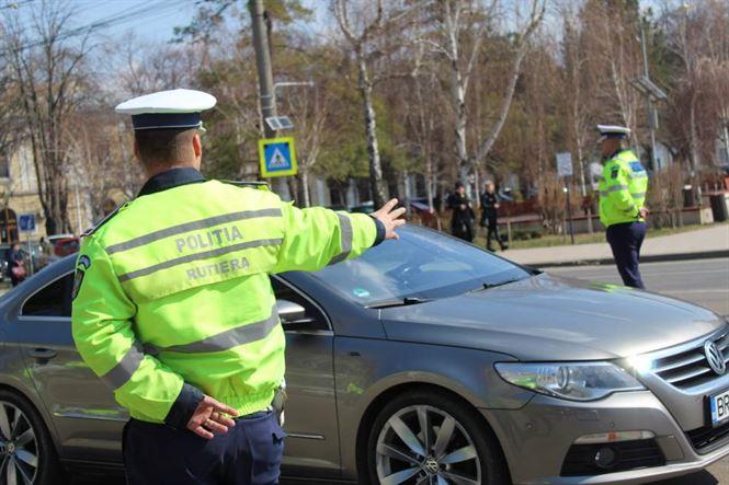 Acțiune Alcohol & Drugs a polițiștilor brăileni