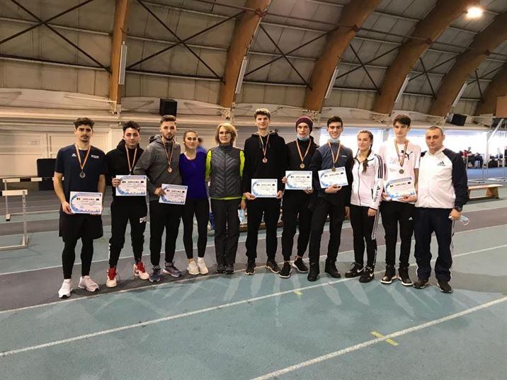 Opt atleți de la LPS Brăila pe podium la Cupa Bistriței