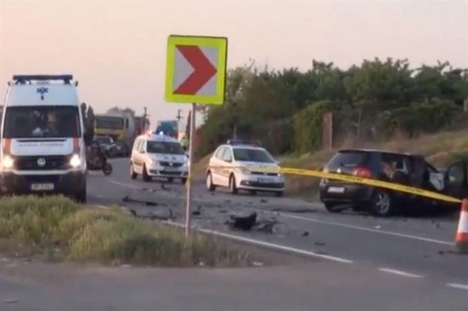 Galerie foto+Video: Accident cu 8 raniti la iesire din Baldovinesti