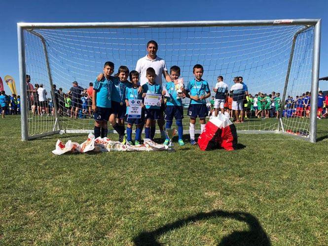 Kinder Braila, locul 2 la Brașov Junior's Cup Under 8