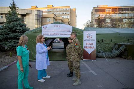 Angajări temporare în sistemul medico-militar