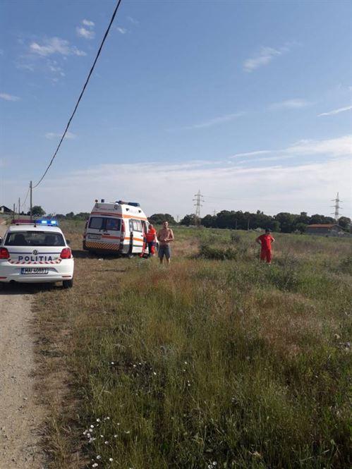 Brăilean implicat într-un accident grav la Eforie Nord