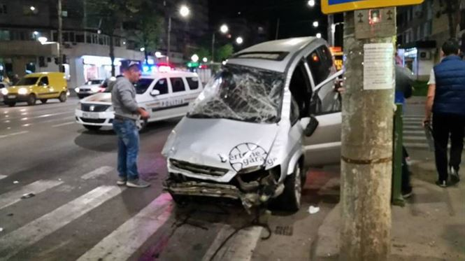 Video: Accident cu trei victime in zona Pietei Concordia