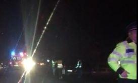 Video: Accident pe DN2B în zona Complexului Stejaru
